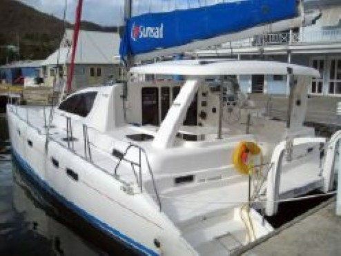 Preowned Sail Catamarans for Sale 2007 Leopard 43  Deck & Equipment